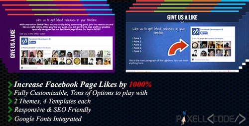 CodeCanyon - Facebook Lightbox v3.0 - Boost Your Facebook Likes