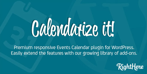 CodeCanyon - Calendarize it! v3.4.3.61734 for WordPress
