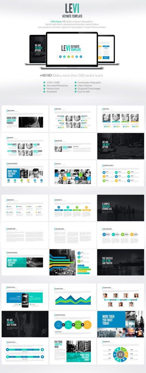 Levi | Keynote Presentation - Creativemarket 84926