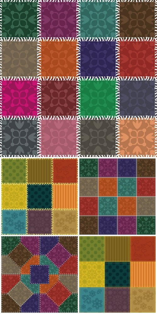 Texture, color vector backgrounds with patterns