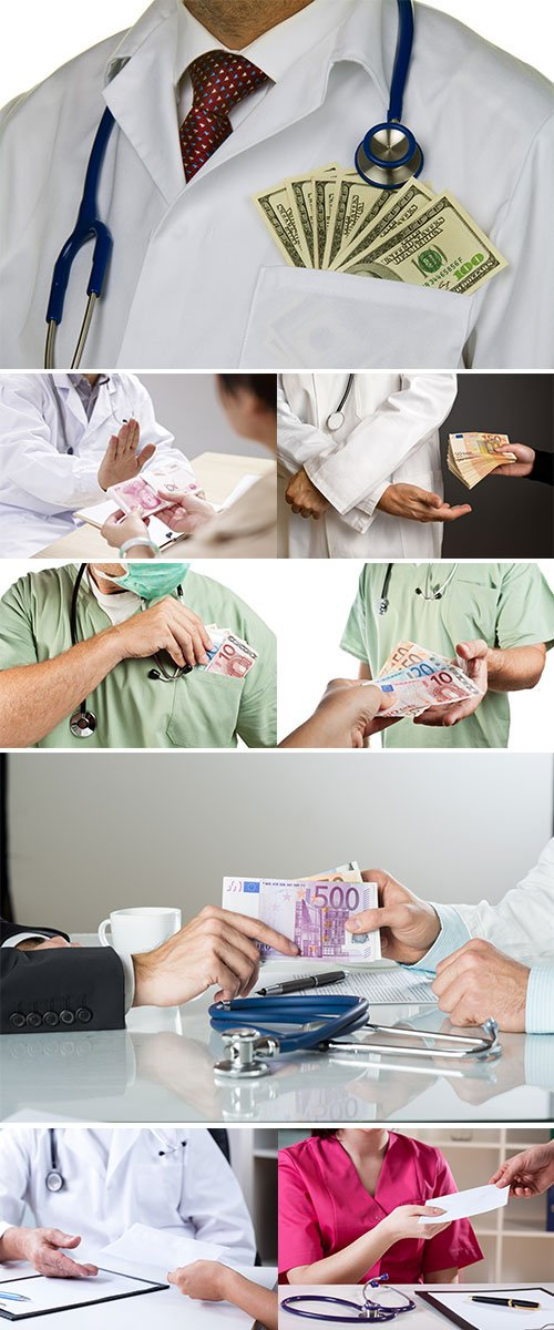 Stock Image Medicine corruption