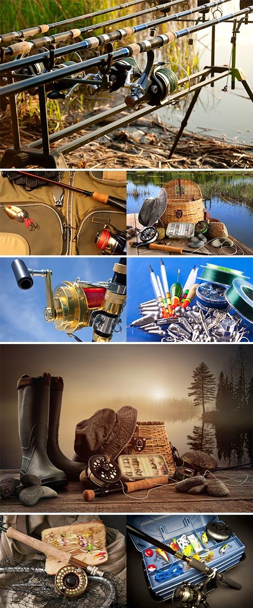 Stock Images Fishing tackle