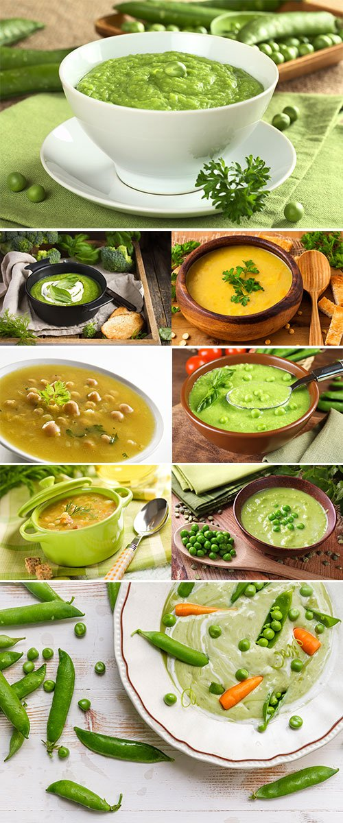 Stock Image Pea soup