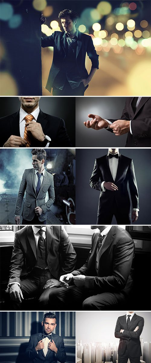 Stock Image Man in suit