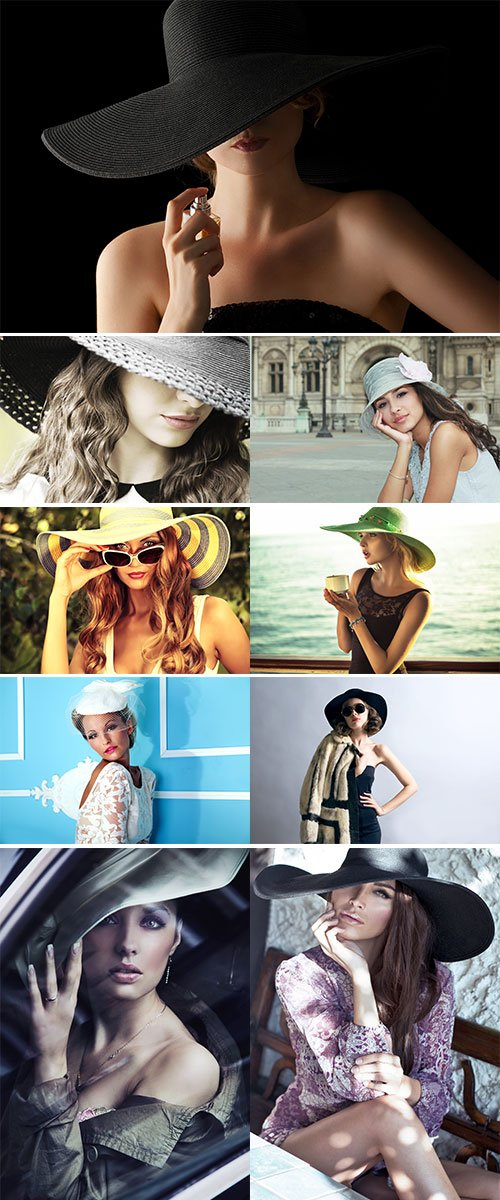 Stock Image Woman in elegant hat