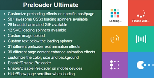 CodeCanyon - Preloader Ultimate v1.0 - Wordpress Plugin
