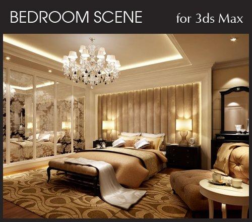 bedroom interior scene for 3ds max  part 4  u00bb nitrogfx