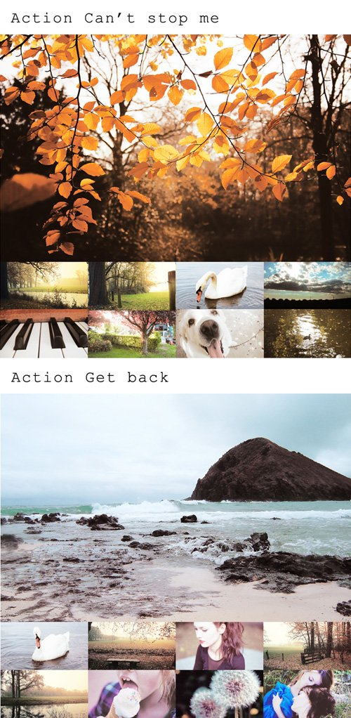 Photoshop Actions Pack 76