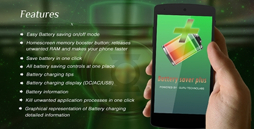 CodeCanyon - Battery Saver Plus (Update: 26 April 15) - 9923623
