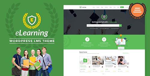 ThemeForest - LMS WordPress Theme - eLearning WP v1.4 - 11797847