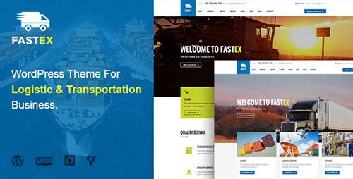 ThemeForest - Transport & Logistics WordPress Theme - FastEx v1.0 - 12532973