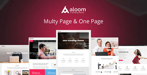 ThemeForest - Aloom v1.0 - Responsive MultiPurpose Drupal Theme - 12451922