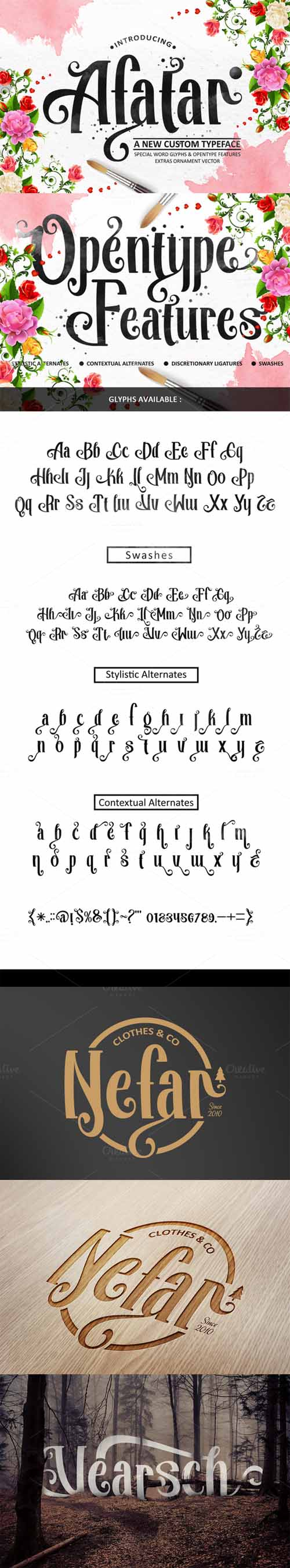 AFATAR Font
