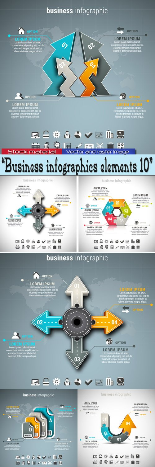 Business - Infographics 10