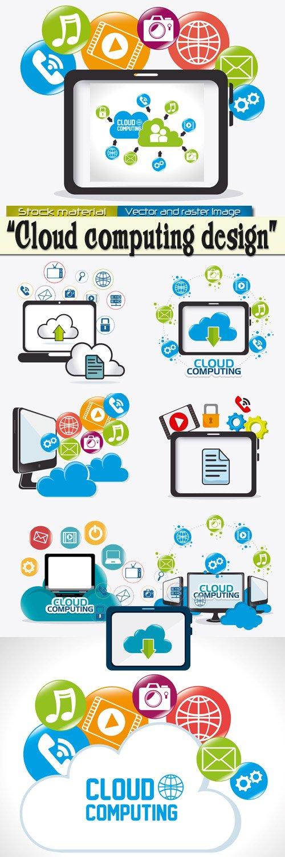 Cloud computing - Infographics of elements 11