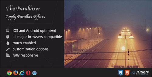CodeCanyon - Parallaxer v2.10 - Parallax Effects on Content - 9256004
