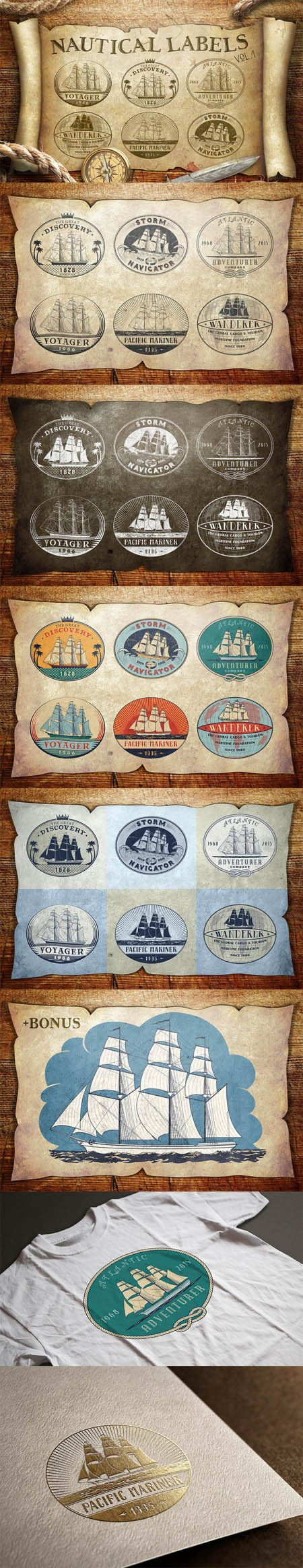 CM - Nautical Labels vol. 1 388700