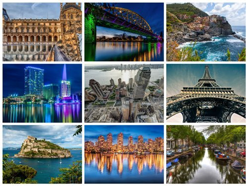 75 Beautiful Cityscapes FullHD Wallpapers