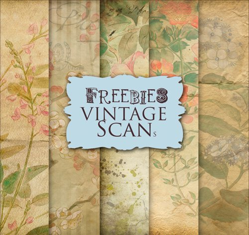 Paper Background Textures in Vintage Style, part 5