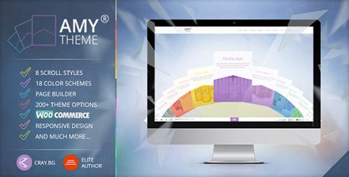 ThemeForest - AMY Theme v1.6 - Creative Multi-Purpose WordPress Theme - 8557370