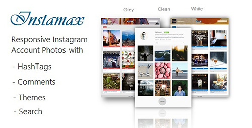 CodeCanyon - InstaMax v4.1 - Instagram Photo Gallery on your Website - 11012618