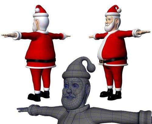 3docean - Santa Claus 13389332