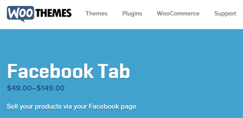 WooThemes - WooCommerce - Facebook Tab v1.1.9