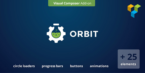CodeCanyon - Orbit v1.6 - Visual Composer Addon Extension - 8790010