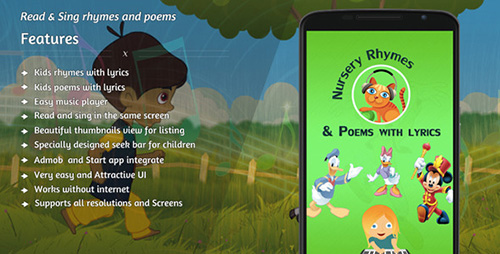 CodeCanyon - Nursery rhymes and poems with lyrics - 10413115