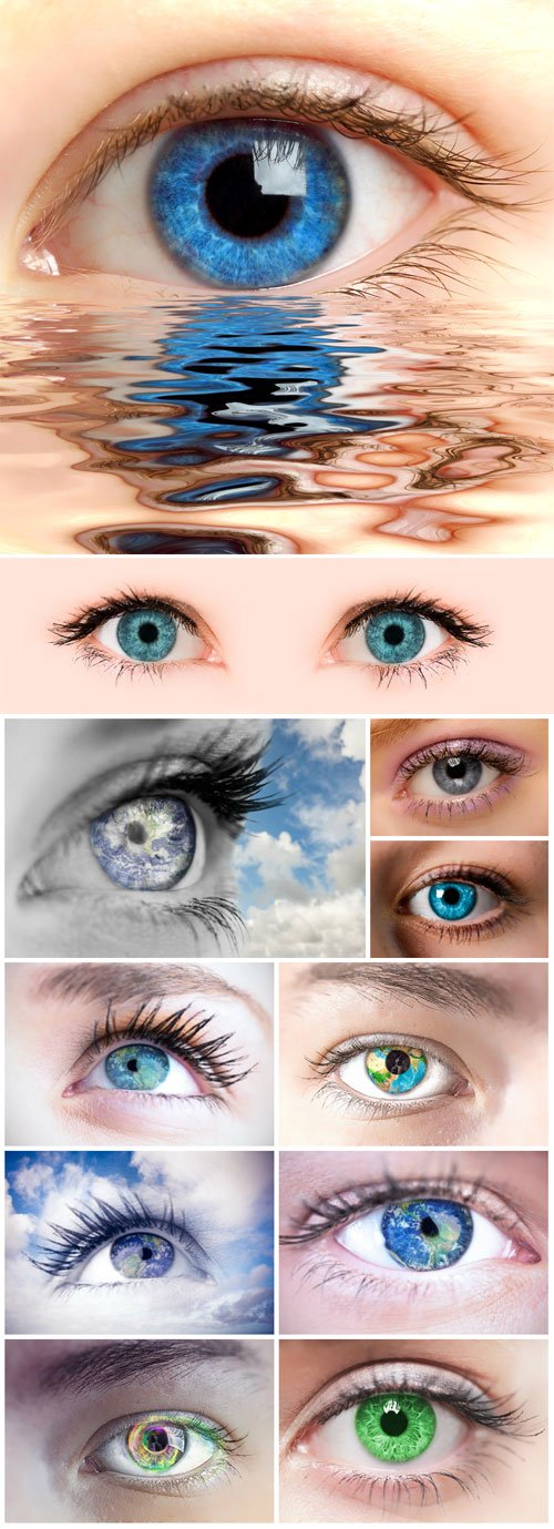 EYES, CREATIVE - STOCK PHOTO