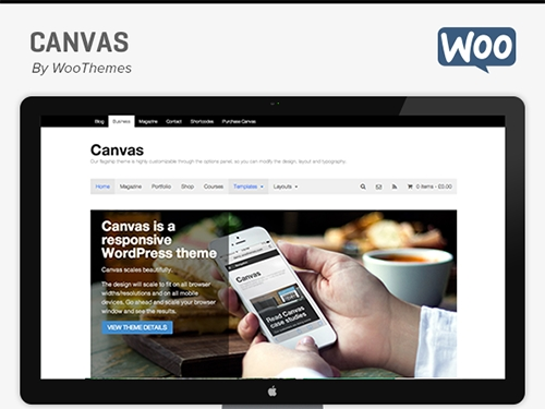WooThemes - Canvas v5.9.12 - WordPress Template