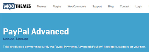WooThemes - WooCommerce PayPal Payments Advanced Gateway v1.17