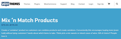 WooThemes - WooCommerce Mix and Match v1.0.5