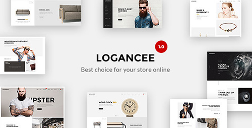 ThemeForest - Logancee v1.0 - Mutilpurpose eCommerce PSD Template - 13091469