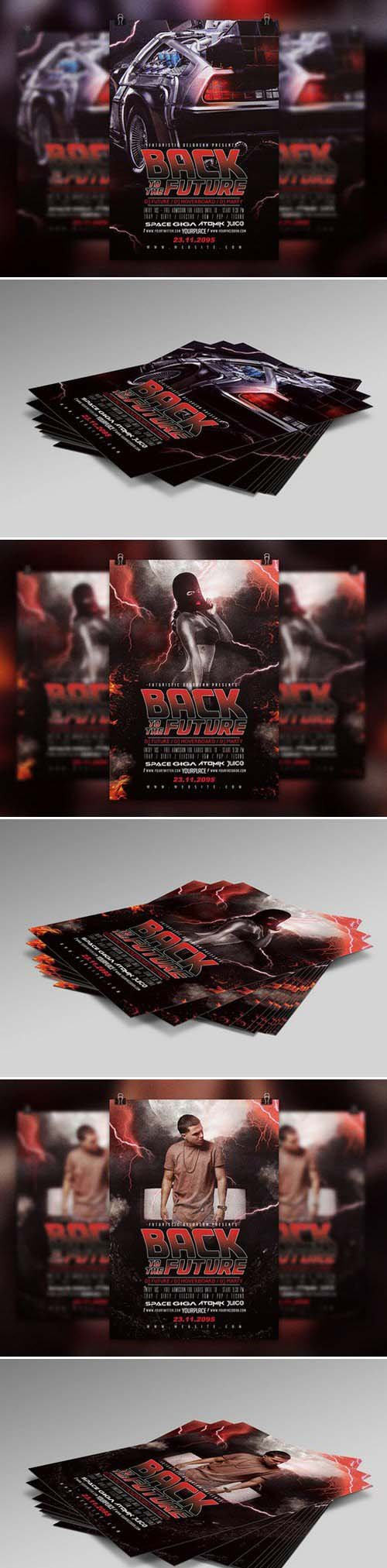 CM - Back To The Future | Flyer Template