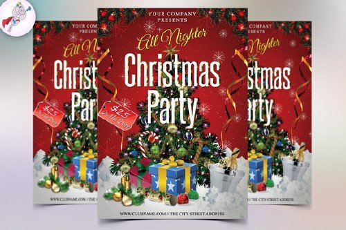 CM - Christmas Party Flyer 449702