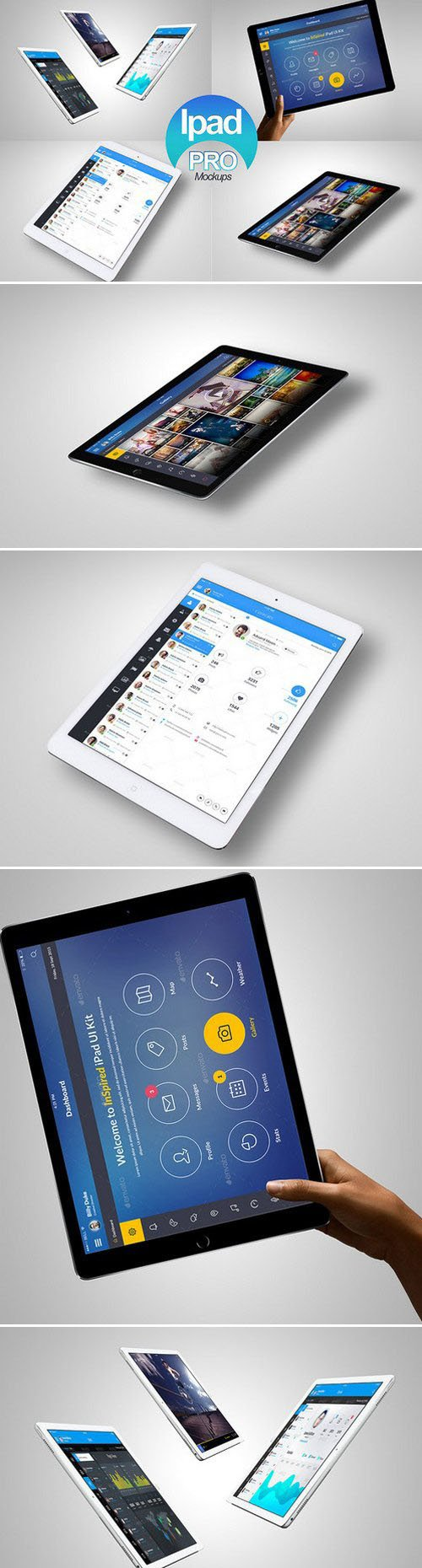 CM - Ipad Pro Tablet Mock-Up