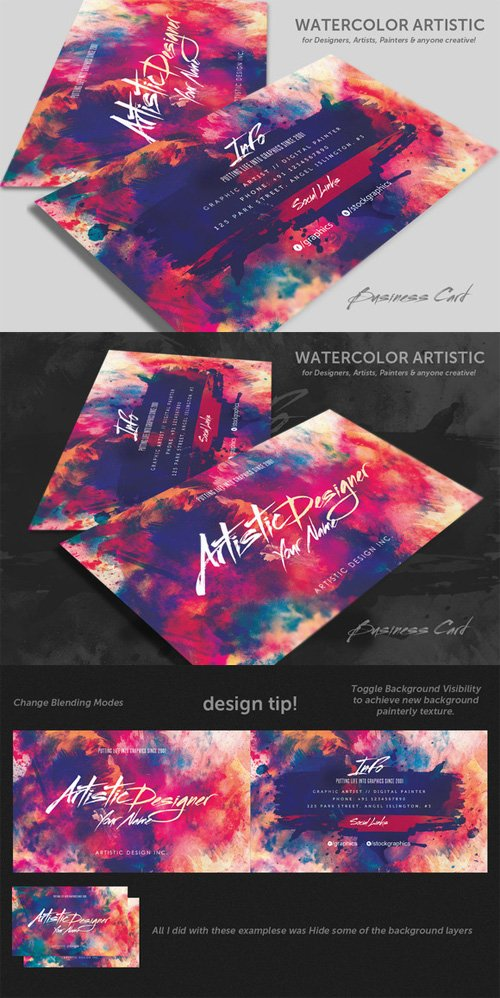 Artistic Business Cards. Affordable Creative Business Cards With ...