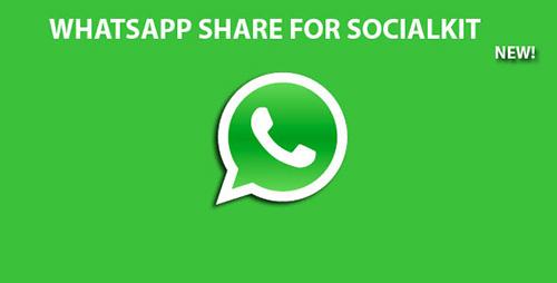 CodeCanyon - Whatsapp Share For Socialkit v1.0 - 11842801