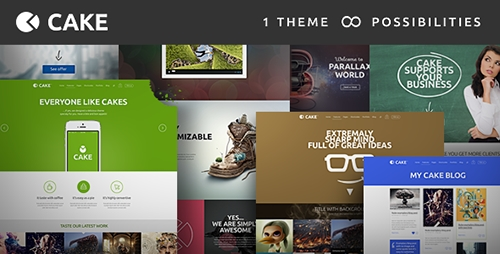 ThemeForest - Cake v1.4.7 - Responsive Multi-Purpose WordPress Theme - 6913568
