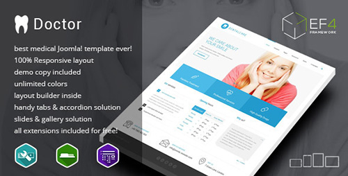 ThemeForest - Doctor v1.01 - multipurpose Services Template - 7938510