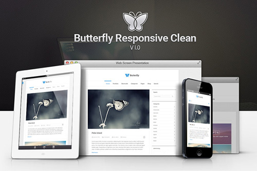 Butterfly v1.0 - Responsive Clean Blog - CM 277337