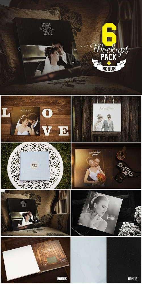 CM - Photography album mockups