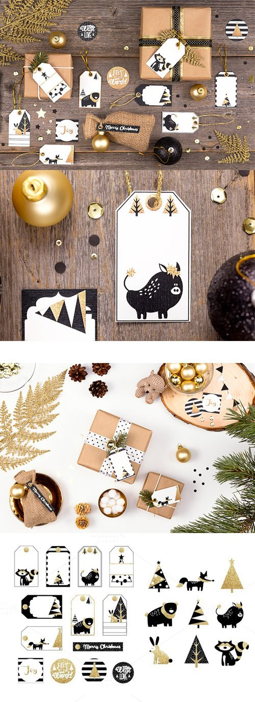 CM - Printable Christmas Gift Tags 457884