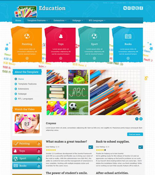 Joomla-Monster - JM School Tools Store v1.02 - Joomla 3.x Template