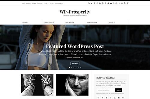 WP-Prosperity - WP-Prosperity v2.6 - Premium Responsive WordPress Theme