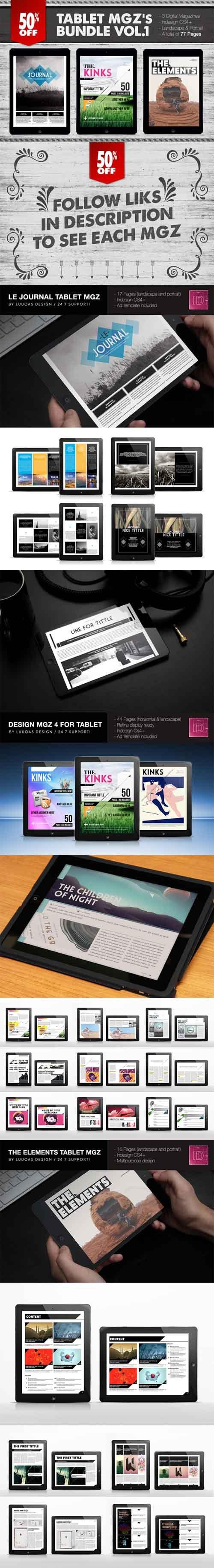 CM - Tablet Magazines Bundle 1