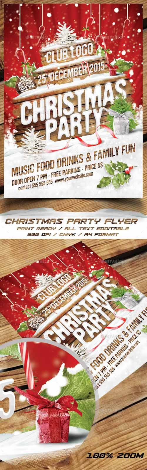 christmas party flyer 13853857 nitrogfx unique christmas party flyer 13853857