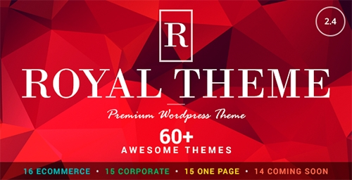 ThemeForest - Royal v2.4 - Multi-Purpose Wordpress Theme - 8611976