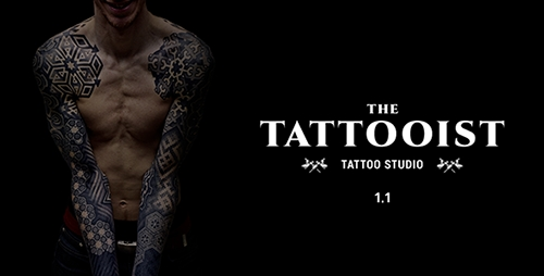 ThemeForest - The Tattooist v1.1 - Tattoo & Body Art Studio Template - 12178903
